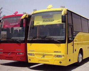 کرایه اتوبوس دربستی - ولوو b7