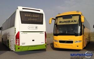 کرایه اتوبوس دربستی - ولوو B9
